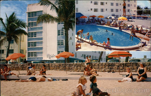 Blue Waters Hotel Miami Beach Florida