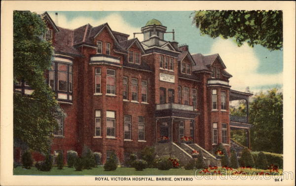 Royal Victoria Hospital Barrie Canada Ontario