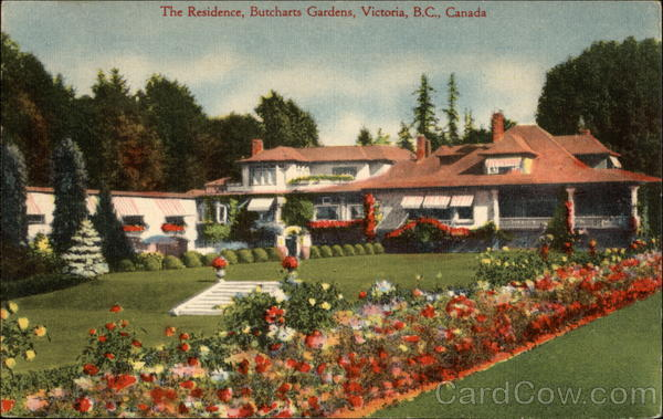 The Residence, Butcharts Gardens Victoria Canada British Columbia
