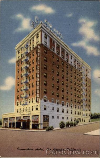 Commodore Hotel Los Angeles California