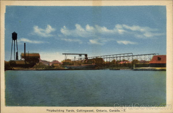Shipbuilding yards Collingwood Canada Ontario
