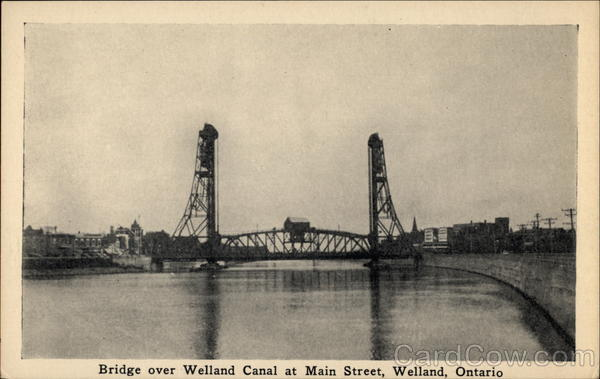 Bridge over Welland Canal at Main Street Ontario