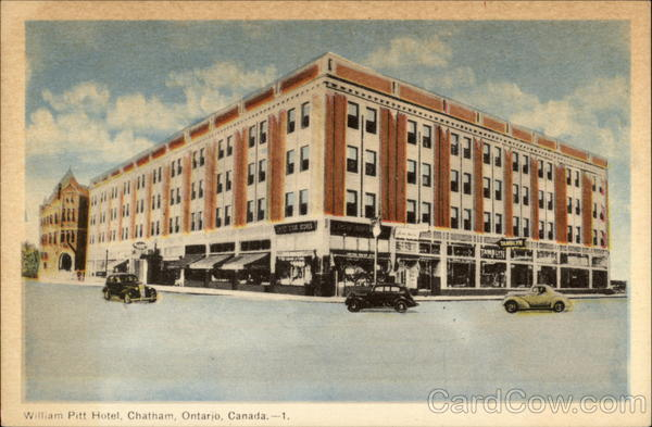 William Pitt Hotel Chatham Canada Ontario