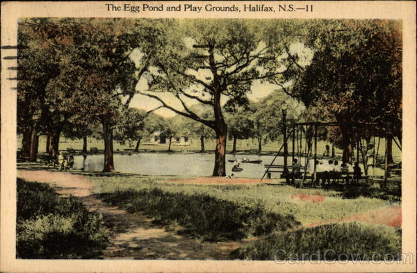 The Egg Pond and Play Grounds Halifax Canada Nova Scotia