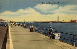 Inlet and Esplanade Postcard