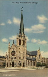 Holy Name Cathedral Postcard