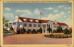 Club House, Home of Hot Springs Golf and Country Club