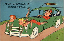 The hunting is wonderful (cartoon)