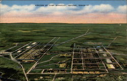 Airview of Camp Berkeley Postcard