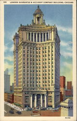 London Guarantee & Accident Company Building Postcard