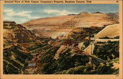 General View of Utah Copper Company's Property