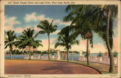 South Flagler Drive and Lake Front