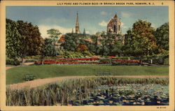 Lily Pond and Flower Beds in Branch Brook Park