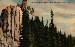 Harney Peak, Lookout Tower