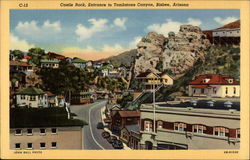 Castle Rock, Entrance to Tombstone Canyon