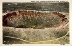 Meteor Crater between Flagstaff and Winslow
