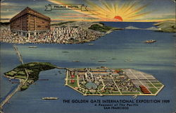 Palace Hotel The Golden Gate International Exposition 1939 A Pageant of the Pacific
