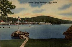 "Steamer ""Mount Washington"" at the Weirs"