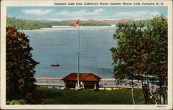 Sunapee Lake from Lakewood Manor Summer House