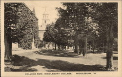 College Row, Middlebury College