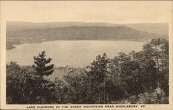 Lake Dunmore in the Green Mountains