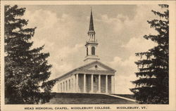 Mead Memorial Chapel, Middlebury College