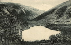 Echo Lake from Artist's Bluff, Franconia Notch, White Mountains