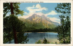 Stanley Lake and Peaks