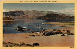 Boat landing, Lake Mead, near Boulder City, Nevada