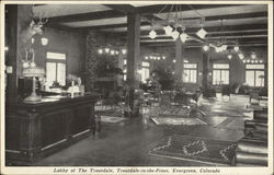 Lobby of The Troutdale, Troutdale-in-the-Pines