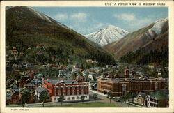 A Partial View of Wallace, Idaho