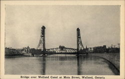 Bridge over Welland Canal at Main Street