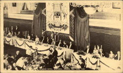 Banquet in honor of Their Majesties King George VI and Queen Elizabeth