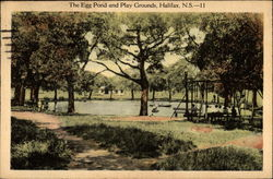 The Egg Pond and Play Grounds