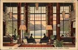 Lobby, Prince of Wales Hotel, Waterton Lakes National Park