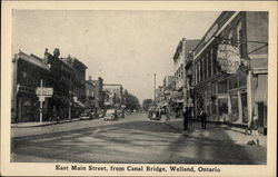 East Main Street, From Canal Bridge