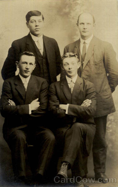Group of Four Men