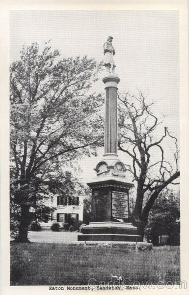 Eaton Monument Sandwitch Massachusetts