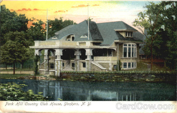 Park Hill Country Club House Yonkers New York