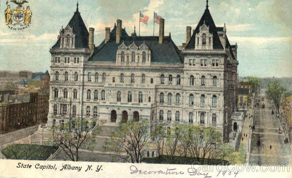 State Capital Albany New York
