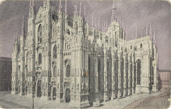 The Milan Cathedral - Tinted Italy