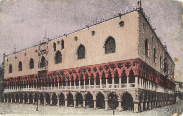 Palace of the Doges - Tinted Venice Italy