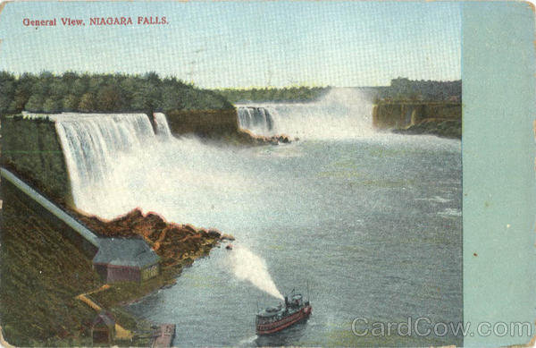 General View Niagara Falls New York