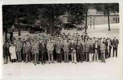 Group of Men, Company Photo