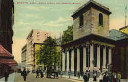 King's Chapel And Tremont Street