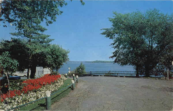 Beautiful Bell Park overlocking Lake Ramsey Sudbury Ontario Canada