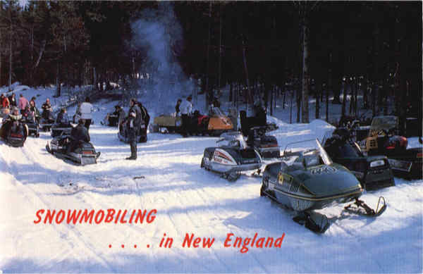 Snowmobiling in New England