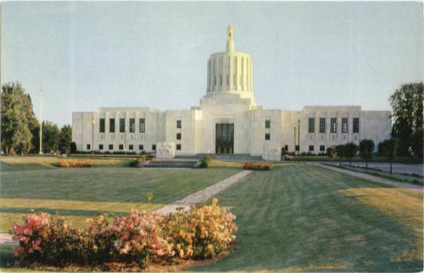 State Capitol Salem Oregon