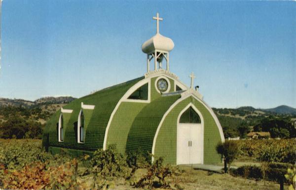 Famous El Carmelo Chapel Italian Swiss Colony Vineyards ...