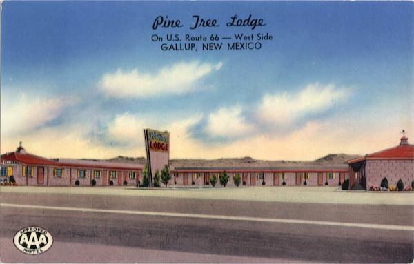 Pine Tree Lodge Gallup New Mexico